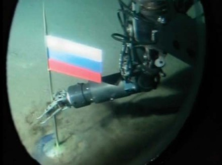 Russia plants flag on Arctic seabed
